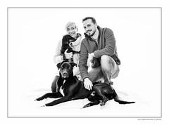 LUC_5485_1 (Spenny71) Tags: family portrait bw dog dogs cane friend famiglia bn friendly ritratti amicizia cani progetto spennacchio spenny71