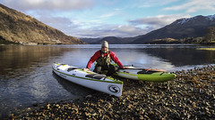 Stealth Kayak (Nicolas Valentin) Tags: nature scotland stealth loch etive ecosse kayakfishing nicolasvalentin stealthkayak