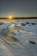 Amanecer II (Jose Cantorna) Tags: sol nikon nieve paisaje amanecer frío hielo euskadi araba álava d610 opakua entzia