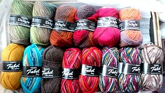 Future socks! (pacific_rin) Tags: socks drops knitting yarn delight fabel iloveyarn yarnmakesmehappy itchingtoknitthis