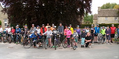 PJH IMGP_174+176 (Phil Heneghan) Tags: poulton pedallers gloucestershire uk panorama cyclist bicycle may 2015 composite pentax optio e35 microsoftice