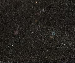 M35 and Rosette Region (StephenGA) Tags: astrophotography 135mm m35 2016 70d rosettenebula