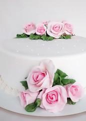 Torta delicada (mycake.nataliacasaballe) Tags: mujer rosas torta romantica delicada