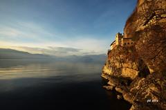 Eremo di Santa Caterina del Sasso (gbistoletti) Tags: panorama italia chiesa tramonti lombardia lagomaggiore leggiuno provinciadivarese