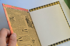 Handmade books by me (FreckledPast) Tags: book handmade bookbinding evinok