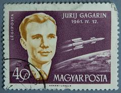 Stamp...again (sigmanow) Tags: macro nikon space stamp d750 postzegel 1961 gagarin briefmarke