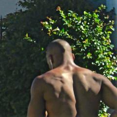 IMG_8076 (danimaniacs) Tags: shirtless man hot guy back hunk stud hunky mansolo