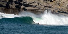 AJAN OLAVARRI / 9706GNW (Rafael González de Riancho (Lunada) / Rafa Rianch) Tags: sea mer sports mar rocks surf waves surfing cliffs olas rocas cantabria deportes laisla océano acantilados santamarina