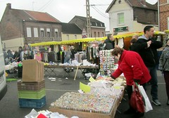 Market day 2 (april-mo) Tags: france market streetscene march nord frenchlife somain