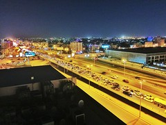 Night traffic Jeddah 0259 (shahidul001) Tags: street night traffic lifestyle jeddah saudiarabia