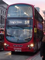 King's Cross (Andrew Stopford) Tags: eclipse wright kingscross arriva vdl 2dl db300 lj59aee