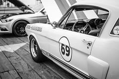 Mustang (vapi photographie) Tags: show santa old usa classic ford car america vintage la pier los angeles monica mustang supercar sportcar gt500