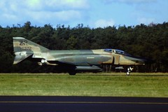 RF-4C Phantom-II 69-0372/ZR 38th TRS/ 26th TRW USAFE. Soesterberg Air Base, 18-09-1986. (Aircraft throughout the years) Tags: douglas usaf airbase mcdonnell zr recce recon soesterberg rf4c phantomii reconnaissance 26trw usafe 38trs