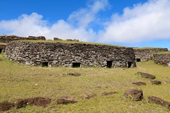 Restored houses, Orongo, Easter Island (susiefleckney) Tags: houses easterisland rapanui orongo