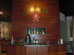 behind the bar @ Jim Beam (anokarina) Tags: kentucky ky whisky bourbon distillery clermont jimbeam whiskeytrail casioexs10
