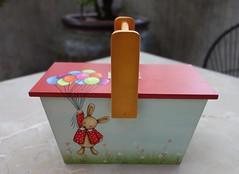 Cestinha de Páscoa (Kika 2002) Tags: wood painting easter handmade artesanato craft páscoa coelho madeira pintura cesta mdc coelhinho pâque cestinha