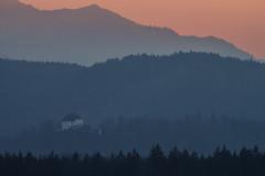 Sunset in Hellbrunn, Salzburg (florian.strebl) Tags: light sunset salzburg canon ngc tele available 70300 untersberg hellbrunn firstdslr eos1100d