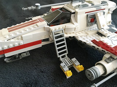 IMG_1260 (lee_a_t) Tags: starwars fighter lego xwing spaceship ewing rebels starfighter darkempire legoxwing legostarfighter legoewing