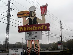 Whiteford's (Just Back) Tags: food chicken giant big arms legs cola drink muscle burger ad saturday ribs electricity roll friday laurens coca ff irvin smoked 429 twopiece 2pc
