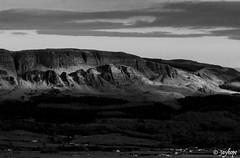 Binevenagh Mountain/Hill (Jayhopephotography) Tags: ireland sky blackandwhite mountain nature landscape mono nikon scenic explore d7100 binevenagh scenicsnotjustlandscapes jayhopephotographycom jayhope