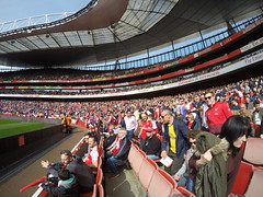 Emirates Stadium!