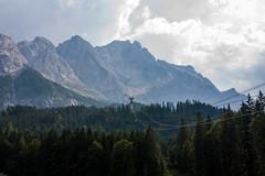 Zugspitze from the Bottom (mikefeldman) Tags: germany de austria tirol europeanvacation places ehrwald zugspitze