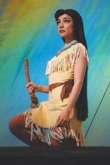 Pocahontas (guacamolls) Tags: disneyland disney mmm pocahontas disneyprincess disneylandresort facecharacter fantasylandtheatre mickeyandthemagicalmap magicalmap matmm
