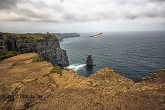 Happy St. Patrick's Day (dorameulman) Tags: ireland seascape landscape cliffs cliffsofmoher atmospheric countyclare slopesoaring happystpatricksday dorameulman