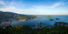 Jayapura Bay (Jokoleo) Tags: city indonesia bay papua teluk jayapura