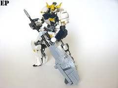 Gundam Barbatos 5th Form [Ground] (ExclusivelyPlastic) Tags: mobile japan japanese robot lego orphans suit gundam mecha mech barbatos ironblooded