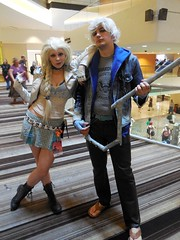 Punk Elsa & Jack (Wrath of Con Pics) Tags: frozen cosplay disney dragoncon jackfrost riseoftheguardians queenelsa dragoncon2015