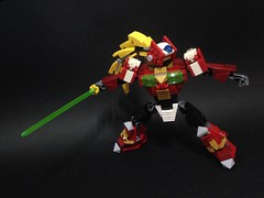Maverick Hunter Zero 2 (Reventist) Tags: lego zero capcom megamanx rockmanx maverickhunter