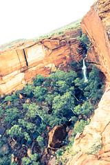 King's canyon (jpauledwards8587) Tags: red rock canon waterfall australia canyon outback gorge kingscanyon