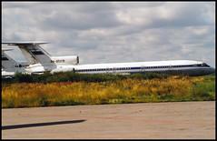 RA-85215 - Moscow Vnukovo (VKO) 16.08.2001 (Jakob_DK) Tags: 2001 vko uuww vnukovo moscowvnukovo tupolev tupolev154 tupolev154b tu154 tu154b careless vnukovoairlines