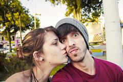 Love (Nick Schukkel) Tags: boy sunset urban love girl amor namorada selfie itanham