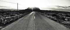 Into the sun (mexou) Tags: road street bw lighthouse spain montgo intothesun dnia 753m capsanantoni xaba