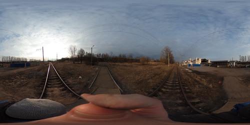 RZD Novyi Petergof railway terminal 1850-s
