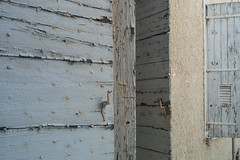 20160423 Provence, France 02599 (R H Kamen) Tags: france window architecture shutters weathered bliue buildingexterior provencealpesctedazur rhkamen woodmaterial