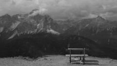Mezz'aria (VALERIA MORRONE  ) Tags: nikon nuvole elmo valeria alto montagna panchina adige d60 morrone