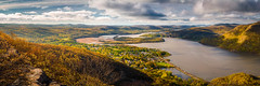 Spring in the Valley (pidalaphoto) Tags: ny newyork mountains clouds sunrise river dark moody valley hudsonriver hudsonvalley bullhill hudsonhighlands clearingstorm coldspringny mttaurus mounttaurus philipstown