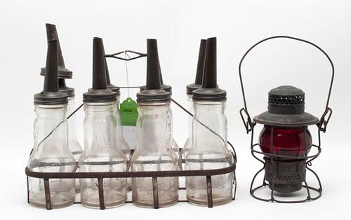 Oil Bottles and Carrier ($319.00)
