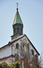 Oura Cathedral (jpellgen) Tags: travel church japan architecture easter japanese march spring european catholic cathedral sigma christian  nippon christianity nagasaki nihon nationaltreasure  2016  oura  1770mm kushu ourachurch tenshudo d7000