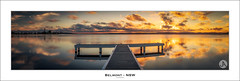 Belmont - NSW (John_Armytage) Tags: longexposure sunset panorama clouds newcastle belmont pano australia panoramic nsw johnarmytage nisifiltersaustralia