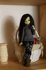New outfit for Mousse (Sendell_Caramdir) Tags: green outfit dolls handmade casual noble legit reglisse alpaga