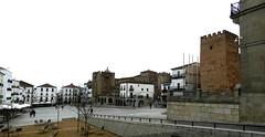 Caceres Plaza Mayor Torres de Bujaco de los Pulpitos de la Yerba 02 (Rafael Gomez - http://micamara.es) Tags: plaza de la los torre mayor unesco panoramica yerba caceres humanidad patrimonio pulpitos bujaco