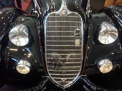 Alfa Romeo 6C 2300 Pescara (Carozzeria Touring Milan) (andreboeni) Tags: auto milan classic cars car emblem italian essen automobile milano voiture retro badge alfa oldtimer autos grille script alfaromeo touring automobiles voitures italiano automobili classique technoclassica 8c classico 2900 carozzeria 8c2900