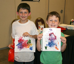Magnet painting (UGA College of Ag & Environmental Sciences - OCCS) Tags: night science uga tifton
