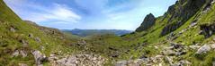 Ben Lomond Seen from The Cobbler (Non Paratus) Tags: panorama mountain grampianmountains benlomond corbett arrochar munro benarthur thecobbler lochlong arrocharalps argyllandbute beinnlaomainn