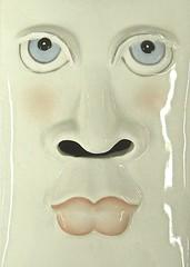 the tracks of her tears (muffett68 ) Tags: face ceramic thetracksofmytears slidersunday thetracksofhertears