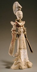 Ancient China. Tang dinasty statuette (mike catalonian) Tags: ceramics tang statuette ancientchina